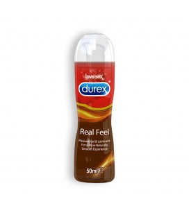 LUBRICANTE DUREX REAL FEEL 50ML