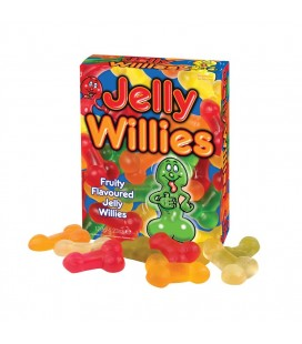 GOMAS EN FORMA DE PENE JELLY WILLIES