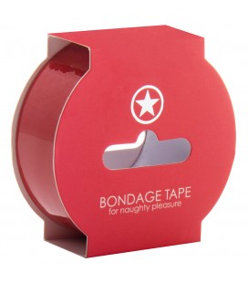 OUCH! BONDAGE TAPE RED
