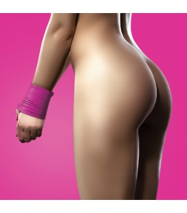 OUCH! SILICONE RESTRICTION ROPE 5 METERS PINK