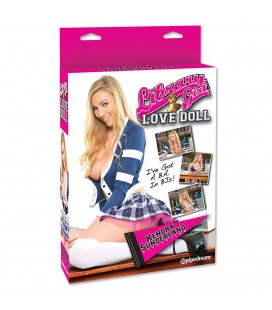 BONECA INSUFLÁVEL LIBRARY GIRL LOVE DOLL KENDRA SUNDERLAND COLLECTION