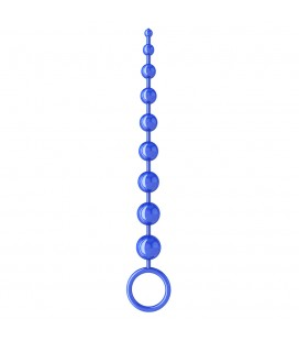 SEX PLEASE! SEXY BEADS 9 ANAL BEADS BLUE