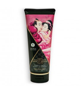 SHUNGA MASSAGE CREAM RASPBERRY FEELING