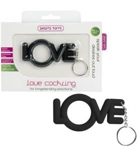 LOVE COCKRING BLACK