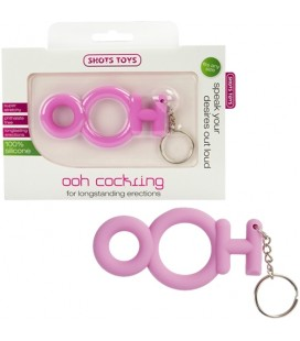 OOH COCKRING PINK