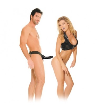 FETISH FANTASY SERIES BEGINNER´S HOLLOW STRAP-ON BLACK