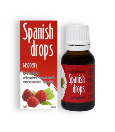 SPANISH DROPS RASPBERRY ROMANCE DROPS 15ML
