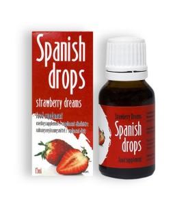 SPANISH DROPS STRAWBERRY DREAMS DROPS 15ML