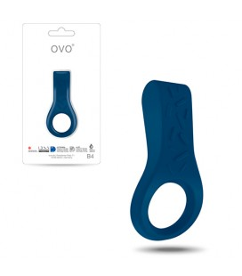 OVO B4 PENIS RING BLUE