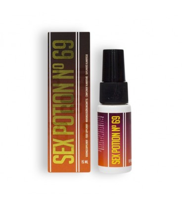 SEX POTION Nº 69 STIMULATING SPRAY 15ML