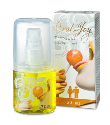 SPRAY ÍNTIMO ORAL JOY SABOR TROPICAL 30ML