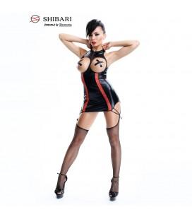 DEMONIQ DRESS YURIKO SHIBARI BLACK