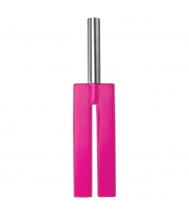 AZOTADOR OUCH! LEATHER SLIT PADDLE ROSA