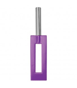 OUCH! LEATHER GAP PADDLE PURPLE