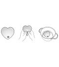 MASAJEADOR HOT HEART MASSAGER MEDIANO ROSA