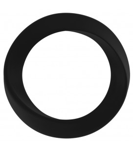 ANILLO PARA EL PENE INFINITY THIN MEDIUM COCKRING NEGRO
