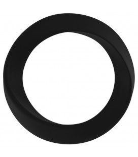 INFINITY THIN LARGE COCKRING BLACK