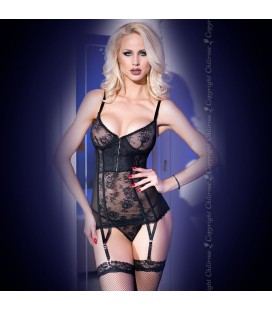 CORSET AND THONG CR-4141