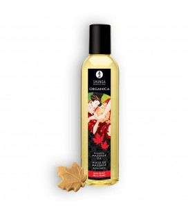 SHUNGA MASSAGE OIL ORGANICA MAPLE DELIGHT 250ML