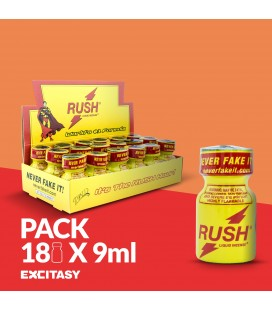 PACK COM 18 RUSH PWD 9ML