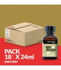 PACK WITH 18 GOLD RUSH 24ML