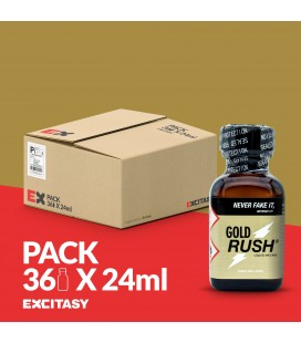 PACK COM 36 GOLD RUSH 24ML