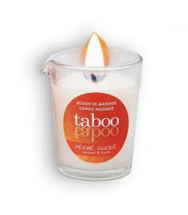 TABOO PÉCHÉ SUCRÉ MASSAGE CANDLE FOR HER 60GR