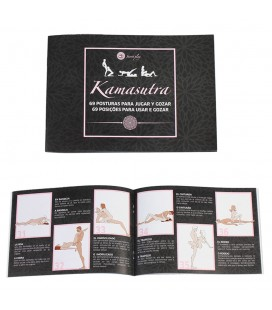 69 POSITIONS OF KAMASUTRA ILLUSTRATIVE BOOK IN PORTUGUESE AND SPANISH