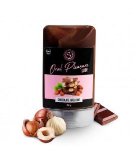 LUBRICANTE BESABLE DE CHOCOLATE Y AVELLANAS ORAL PLEASURE 34GR