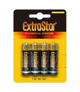 4 AA EXTRASTAR BATTERIES