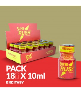 PACK CON 18 SUPER RUSH 10ML