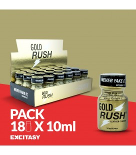 PACK WITH 18 GOLD RUSH 10ML