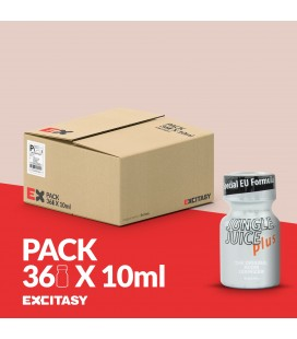 PACK WITH 36 JUNGLE JUICE PLUS 10ML