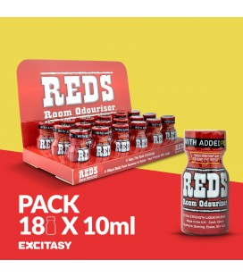 PACK WITH 18 REDS 10ML