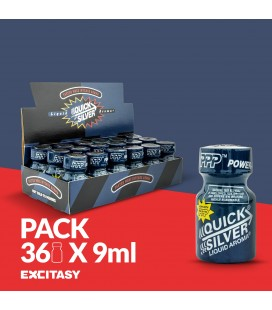 PACK COM 36 QUICKSILVER PWD 9ML
