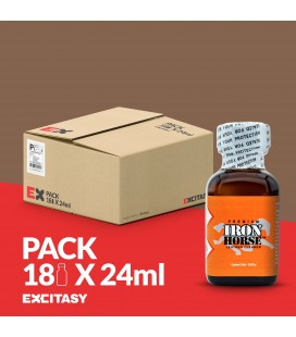 PACK CON 18 IRON HORSE 24ML
