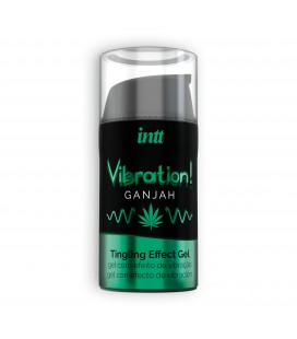 INTT VIBRATION GANJAH GEL 15ML