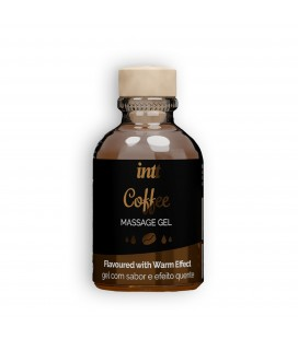 INTT COFFEE FLAVOURED MASSAGE GEL 30ML