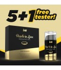 PACK 5 + 1 TESTER GEL DE MASSAGEM COM COLAR DE PÉROLAS PEARLS IN LOVE INTT 15ML