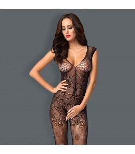 OBSESSIVE F234 BODYSTOCKING BLACK