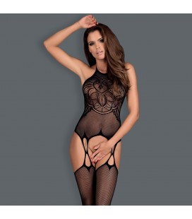 OBSESSIVE G316 BODYSTOCKING BLACK
