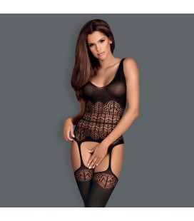 OBSESSIVE G318 BODYSTOCKING BLACK