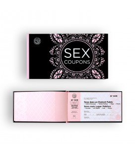 SECRET PLAY SEX COUPONS IN PORTUGUESE AND FRENCH