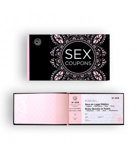 SECRET PLAY SEX COUPONS IN ENGLISH AND SPANISH