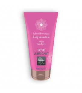 SHIATSU™ EDIBLE LOVE BERRY TASTE LUBRICANT WITH RASPBERRY FLAVOUR 75ML