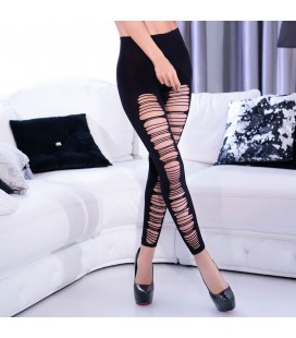 CR-4327 LEGGINGS BLACK