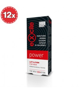 PACK WITH 12 MAN POWER STIMULATING EXCITE GEL 15ML