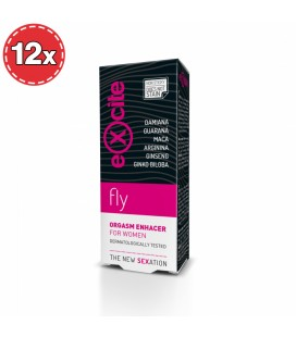PACK WITH 12 WOMAN FLY ORGASM ENHACER 15ML