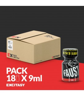 PACK WITH 18 FAUST POPPERS 9ML