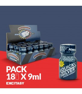 PACK WITH 18 PWD QUICKSILVER 9ML
